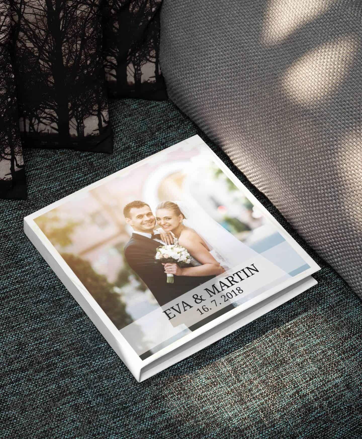 Svatební fotokniha ALTU, Eva a Martin