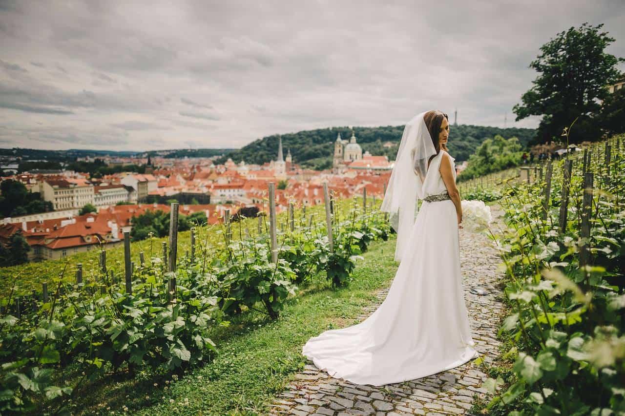 Villa Richter, nevěsta ve vinici