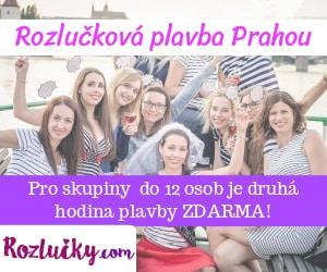Rozlučková plavba Prahou od Rozlucky.com