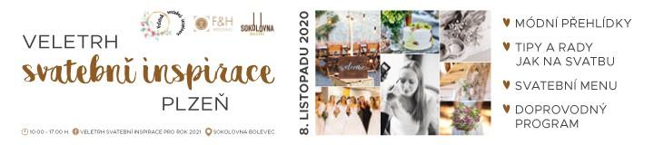 Veletrh svatební inspirace v Plzni