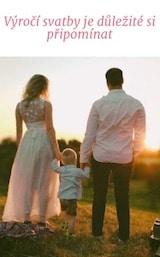 Výročí svatby je důležité si připomínat