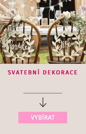 Nakupujte svatební dekorace pro vaši svatbu