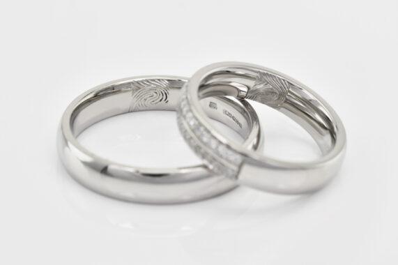 Snubní prsteny Eppi gravír 3