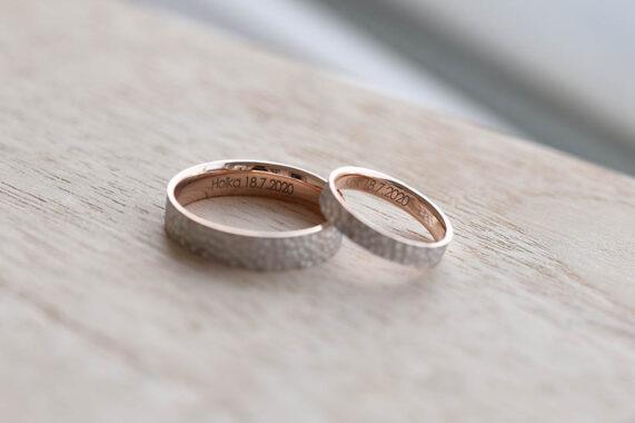 Snubní prsteny Eppi gravír 2
