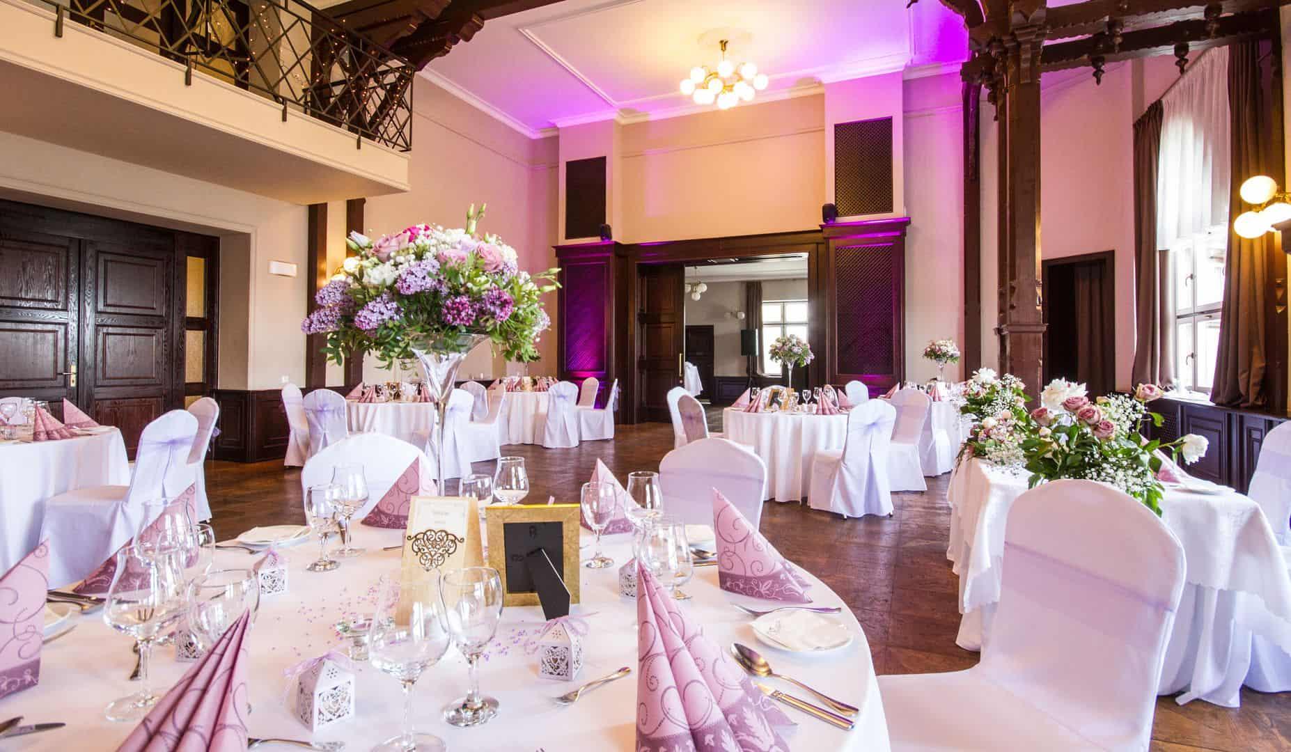 Svatební tabule - Hotel a restaurant Větruše